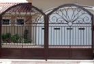 Alabama Hill Wrought iron fencing 2